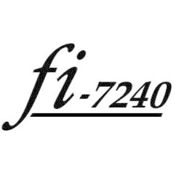 Fujitsu fi-7240 Flatbed & ADF 600 x 600DPI A4 Nero, Bianco