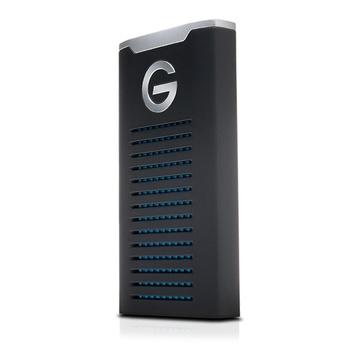 G-Technology G-DRIVE 500 GB Nero, Argento