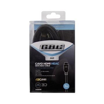GBC 14.2852.00 cavo HDMI 2 m HDMI tipo A (Standard) Nero