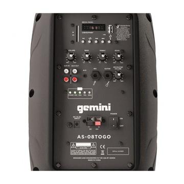 Gemini AS-08TOGO PA 2-vie 500W Nero