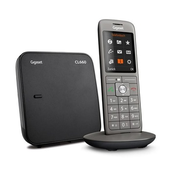 Gigaset CL660 Analog/DECT Telephone Antracite