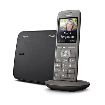 CL660 Analog/DECT Telephone Antracite