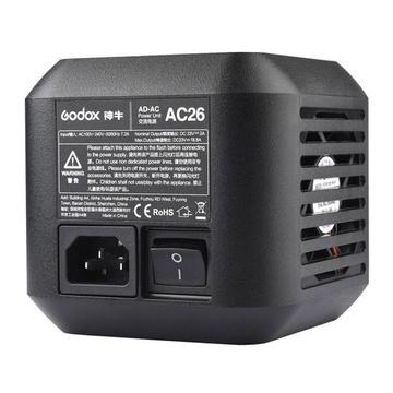 Godox Adattatore AC-26 - Alimentatore RETE per AD600pro