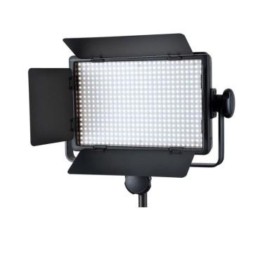 Godox Illuminatore LED LD-500C DUO + stativo 213B per lampade da studio e flash