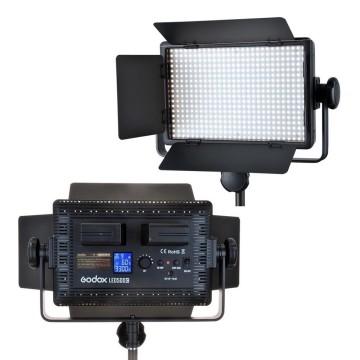 Godox Illuminatore LED LD-500 + stativo 213B per lampade da studio e flash