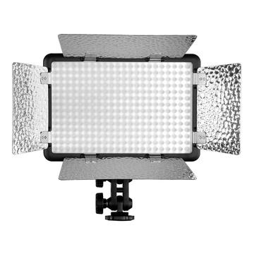Godox LED Flash LF308BI Bicolor 3300-5600K con alette + stativo 213B per lampade da studio e flash