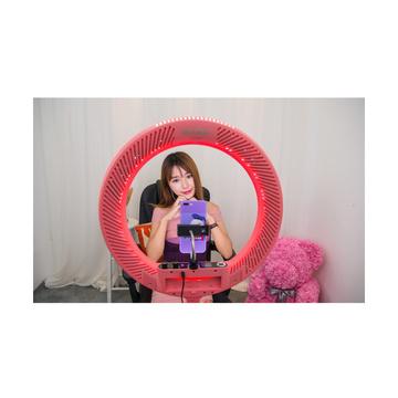 Godox Ring LED LR-160 Bi-Color Rosa