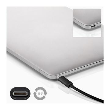 GOOBAY 38872 cavo USB 0,5 m 3.2 Gen 2 (3.1 Gen 2) USB C Nero