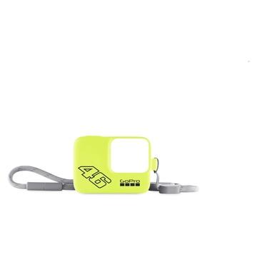 GoPro Guaina + cordino Neon Yellow