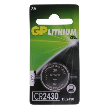 GP Battery GP Batteries Lithium Cell Lithium CR2430 - 1 Batteria monouso Litio