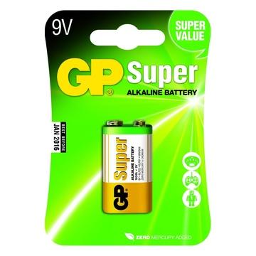 GP Battery GP Batteries Super Alkaline 9V Batteria monouso Alcalino
