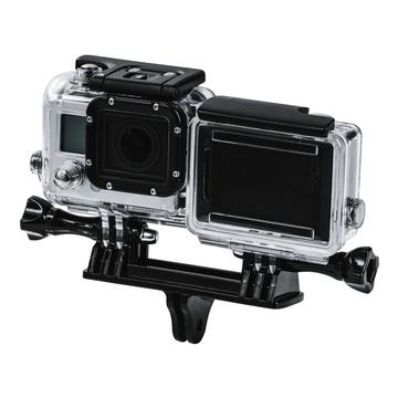 Hama Camera mount doppio per GoPro