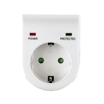 Hama 00047771 protezione da sovraccarico 1 presa(e) AC 230 V Bianco