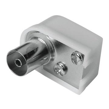 Hama 00205217 connettore coassiale 1 pz