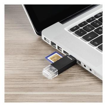Hama Basic lettore di schede Nero USB 2.0/Micro-USB