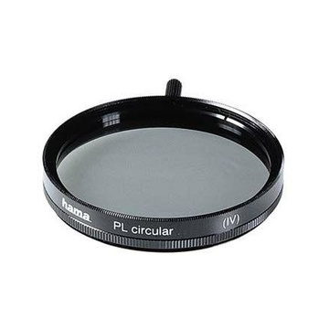 Hama Polarising Filter Circular, 49,0 mm, Coated, Black