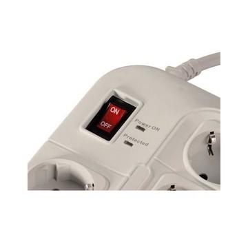 Hama Protection protezione da sovraccarico 8 presa(e) AC 230 V 1,5 m Bianco
