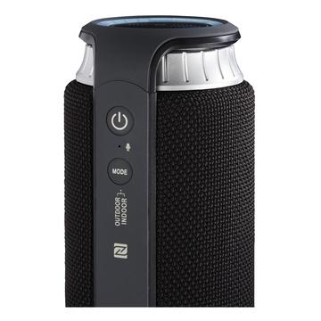 Hama Soundcup-L 24 W Altoparlante portatile Nero, Argento