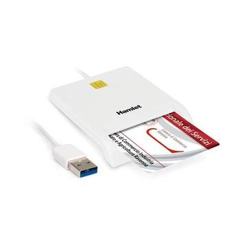 Hamlet HUSCR30 Interno Bianco USB 3.0