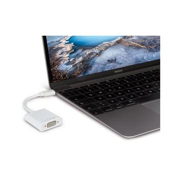 Hamlet HVATC2VGA Cavo e adattatore video 0,13 m USB C VGA Bianco