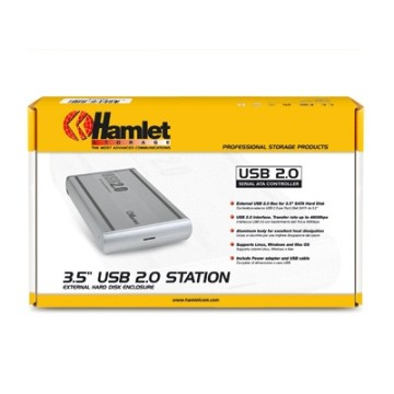 Hamlet HXD3SAUU Box esterno per Hard Disk Serial SATA