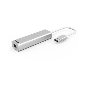 Hamlet XHUB330LAN USB 3.0 Type-A 5000 Mbit/s Argento