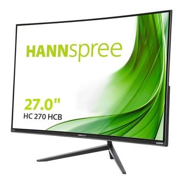 """Hannspree HC 270 HCB 27"""" Full HD LED Curvo Nero"""