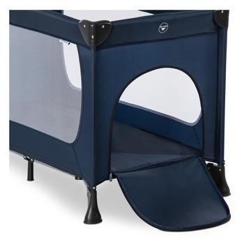Hauck Dream N Play Plus Lettino portatile per bambino Blu marino