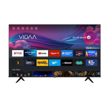 """HISENSE 55A6G TV 54.6"""" 4K Ultra HD Smart TV Wi-Fi Nero, Grigio"""