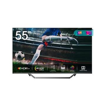 "HISENSE 55U72QF TV 55"" 4K Ultra HD Smart TV Wi-Fi Nero, Grigio"