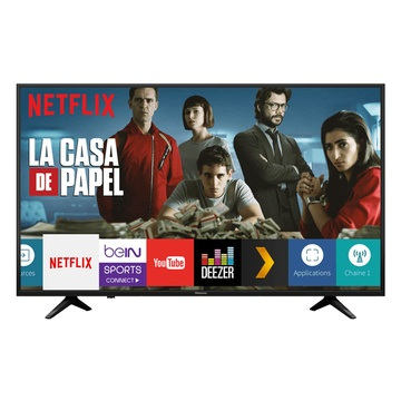 "HISENSE 58A6100 58"" 4K Ultra HD Smart TV Wi-Fi Nero"