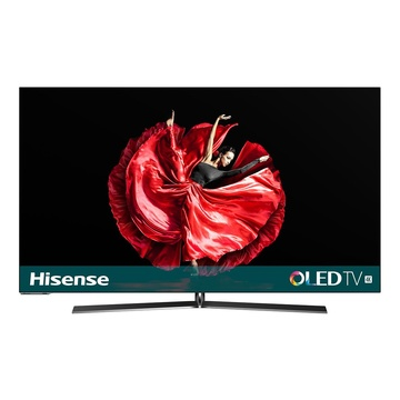 "HISENSE H55O8B TV 54.6"" 4K Ultra HD Smart TV Wi-Fi Nero, Argento"