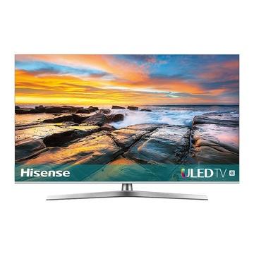 "HISENSE H55U7B TV 54.6"" 4K Ultra HD Smart TV Wi-Fi Nero, Argento"
