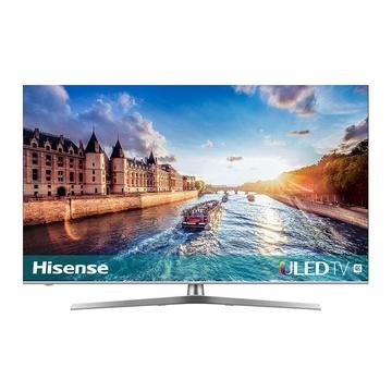 """HISENSE H55U8B 54.6"""" 4K Ultra HD Smart TV Wi-Fi Nero, Argento"""