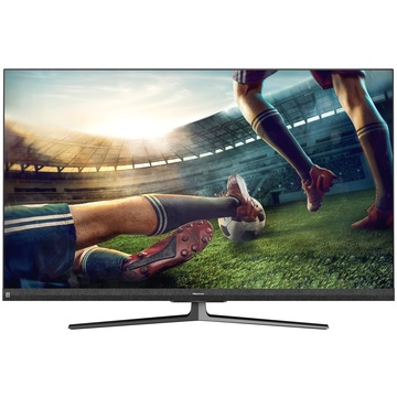 "HISENSE U8QF 65U8QF 64.5"" 4K Ultra HD Smart TV Wi-Fi Nero, Grigio, Metallico"