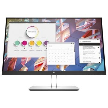 "Hp E24 G4 23.8"" Full HD LCD Nero, Argento"