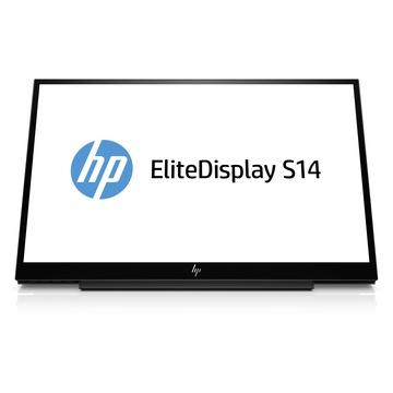 """Hp EliteDisplay S14 LED 14"""" Full HD Opaco Nero"""