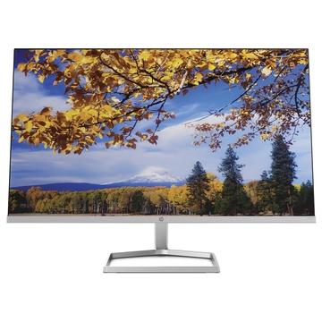 "Hp M27f 27"" Full HD LCD Nero, Argento"