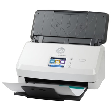 Hp Scanjet Pro N4000 snw1 600 x 600 DPI Scanner a foglio Nero, Bianco A4