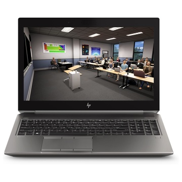 "Hp ZBook 15 G6 i7-9850H 15.6"" FullHD Quadro T2000 Argento"