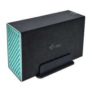 "I-TEC CAMYSAFEDUAL35 Enclosure HDD Nero 3.5"""