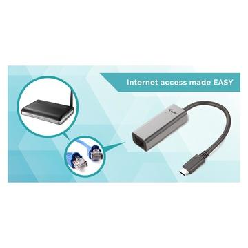 I-TEC Metal C31METALGLAN scheda di rete e adattatore Ethernet 1000 Mbit/s
