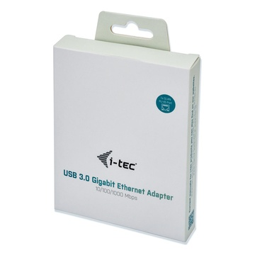 I-TEC Metal U3METALGLAN scheda di rete e adattatore Ethernet 1000 Mbit/s