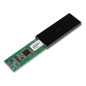 I-TEC MYSAFEM2 Alloggiamento SSD M.2 Nero