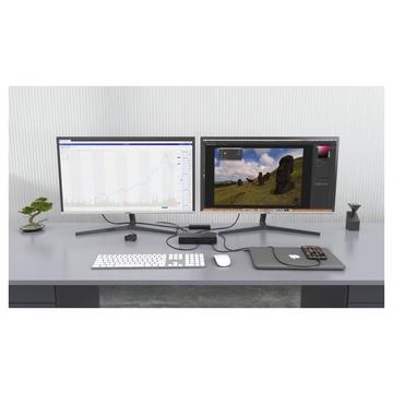 I-TEC Thunderbolt3/USB-C Dual DisplayPort 4K Docking Station + Power Delivery 85W