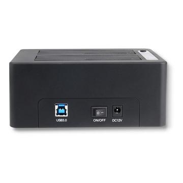 I-TEC U3CLONEDOCK USB 3.2 Gen 1 (3.1 Gen 1) Type-B Nero