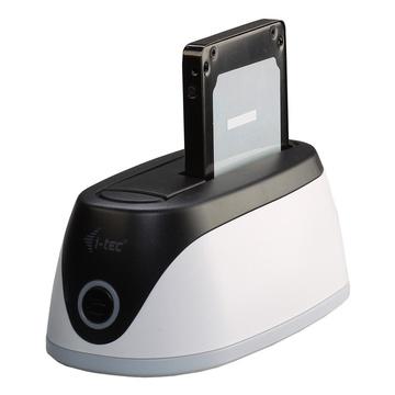 I-TEC U3HDDOCK USB 3.2 Gen 1 (3.1 Gen 1) Type-B Nero, Grigio, Bianco