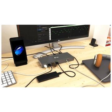 I-TEC USB 3.0 / USB-C / Thunderbolt 3 Dual Display Docking Station