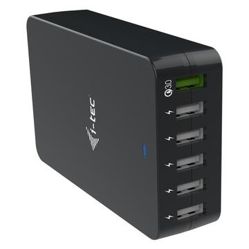 I-TEC USB Smart Charger 6x USB-A Port 52W