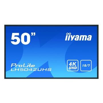 "IIyama LH5042UHS-B3 Pannello A digitale 49.5"" VA 4K Ultra HD Nero"